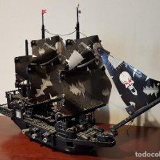 Juegos construcción - Lego: ANTIGUO BARCO PIRATA DE LEGO, INCOMPLETO, GRAN TAMAÑO. TAL CUAL SE VE.. Lote 205564968