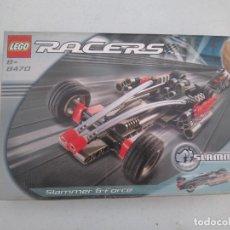 Juegos construcción - Lego: LEGO RACERS - REF. 8470 - SLAMMER G-FORCE. Lote 205813730