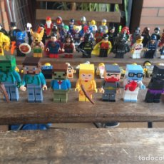 Juegos construcción - Lego: LOTE FIGURAS MINECRAFT TIPO LEGO. NINTENDO. NO TENTE. Lote 205868040