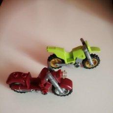 Juegos construcción - Lego: LOTE DE 2 MOTOS DE LEGO. Lote 206244213