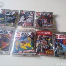 Juegos construcción - Lego: LOTE 7 SOBRES LEGO. Lote 189725641