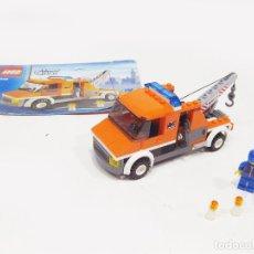 Juegos construcción - Lego: SET COMPLETO DE LA GRUA LEGO REF 7638. Lote 131909082