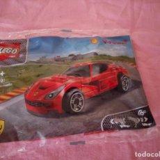 Juegos construcción - Lego: LEGO FERRARI ,PROMOCIÓN SHELL 2014,NUEVO.. Lote 206414251
