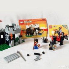 Juegos construcción - Lego: PAREJA DE SETS INCOMPLETOS LEGO MEDIEVALES REFERENCIAS 6009 Y 6036 CON INSTRUCCIONES. Lote 206573700