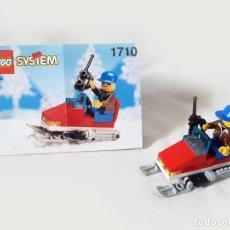Juegos construcción - Lego: SET LEGO SYSTEM CON INSTRUCCIONES REF 1710 - SNOWMOBILE. Lote 206574377