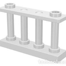 Juegos construcción - Lego: LEGO 30055 VALLA BLANCO 1 X 4 X 2 CON 2 PERNOS PRISIONEROS L16. Lote 207130371