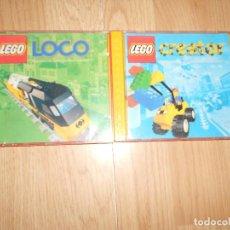 Juegos construcción - Lego: LEGO LOCO + LEGO CREATOR - LOTE 2 CD-ROM. Lote 207421117