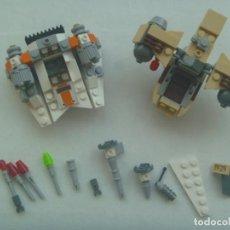 Juegos construcción - Lego: LEGO STAR WARS : LOTE DE PIEZAS DE NAVE. Lote 208021626