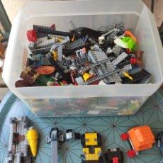 Juegos construcción - Lego: LOTE 3,3 KILOS DE PIEZAS LEGO STAR WARS, SUPER HEROES, VARIADO. Lote 208147177
