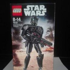 Juegos construcción - Lego: STAR WARS- IMPERIAL DEATH TROOPER- BUIDABLE FIGURES- LEGO- SIN ABRIR. Lote 209209812