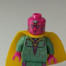 Juegos construcción - Lego: FIGURA LEGO LA VISION MARVEL VENGADORES. Lote 210453395