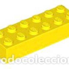 Juegos construcción - Lego: LEGO 2456 AMARILLO. LADRILLO 2 X 6 CJN1. Lote 210835419