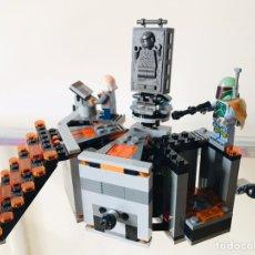 Juegos construcción - Lego: LEGO STAR WARS REF: 75137 CÁMARA DE CONGELACIÓN EN CARBONITA DE HAN SOLO. Lote 210843049