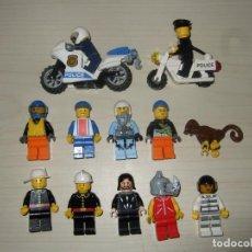 Juegos construcción - Lego: LOTE VARIADO DE FIGURAS LEGO ORIGINAL - PRECIO DE SALIDA 1€. Lote 211399601