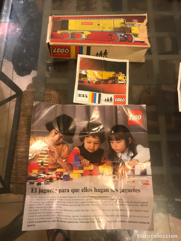 Juegos construcción - Lego: Dos cajas vacias de Lego, manuales y catalogos - Foto 2 - 211438505
