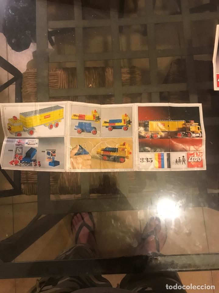 Juegos construcción - Lego: Dos cajas vacias de Lego, manuales y catalogos - Foto 9 - 211438505