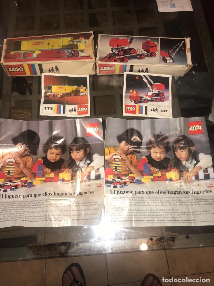 DOS CAJAS VACIAS DE LEGO, MANUALES Y CATALOGOS (Juguetes - Construcción - Lego)