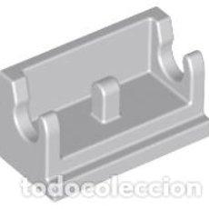 Juegos construcción - Lego: LEGO 3937 BISAGRA GRIS AZULADO CLARO LADRILLO BASE 1 X 2 X3 PIEZAS CJN4. Lote 211454697