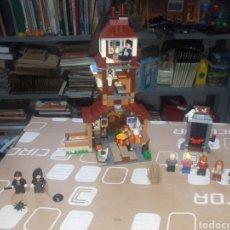 Juegos construcción - Lego: HARRY POTTER MADRIGUERA LEGO 4840 LEER DESCRIPCION. Lote 211696983