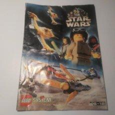 Juegos construcción - Lego: FOLLETO LEGO SYSTEM STAR WARS 1999 CATÁLOGO STARWARS NAVES. Lote 211987271