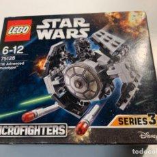 Juegos construcción - Lego: LEGO STAR WARS REF. 75128. NUEVO. TIE ADVANCED PROTOTYPE. MICROFIGHTER SERIES 3.. Lote 212183712