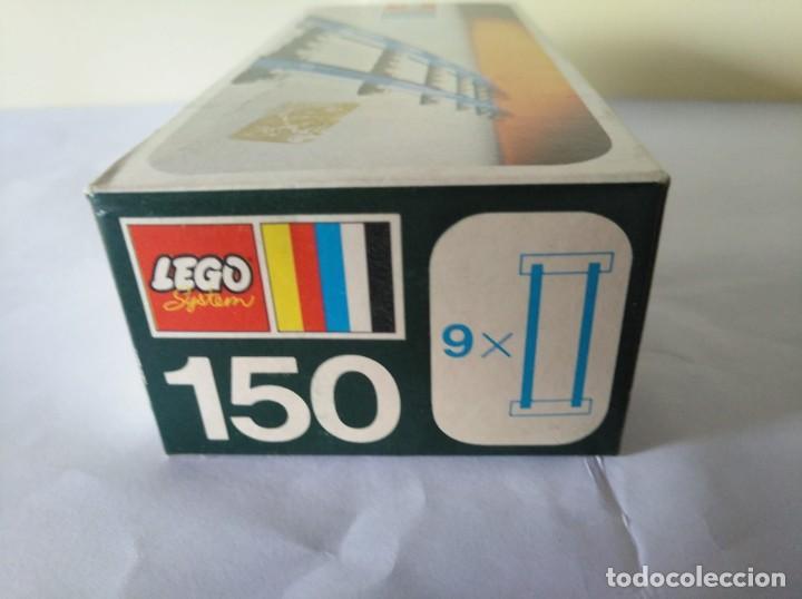 3 CAJAS VIAS LEGO VINTAGE AÑOS 70 REF: 150 (Juguetes - Construcción - Lego)