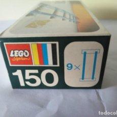 Juegos construcción - Lego: 3 CAJAS VIAS LEGO VINTAGE AÑOS 70 REF: 150. Lote 262826865