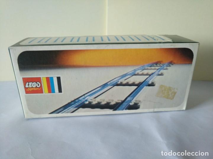 Juegos construcción - Lego: 3 CAJAS VIAS LEGO VINTAGE AÑOS 70 REF: 150 - Foto 2 - 262826865