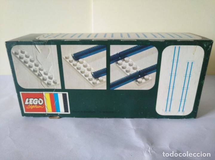 Juegos construcción - Lego: 3 CAJAS VIAS LEGO VINTAGE AÑOS 70 REF: 150 - Foto 3 - 262826865