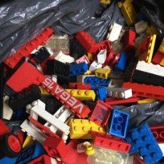 Jogos construção - Lego: LOTE PIEZAS LEGO Y TENTE ANTIGUAS AÑOS 70 DOS KILOS Y MEDIO DE PIEZAS. Lote 212609348