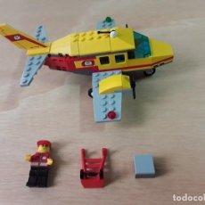 Juegos construcción - Lego: LEGO CITY 7732 AVIÓN DEL CORREOS. Lote 213271160