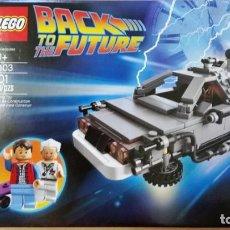 Construction games - Lego: LEGO 21103 REGRESO AL FUTURO DELORIAN NUEVO EN CAJA PRECINTADA. Lote 213467797