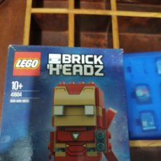 Juegos construcción - Lego: LEGO BRICK HEADZ IRON MAN MI 50. Lote 213505981