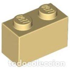 Juegos construcción - Lego: LEGO 3004 LADRILLO AMARILLO CLARO 1 X 2. Lote 213548986