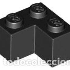 Juegos construcción - Lego: LEGO 2357 LADRILLO NEGRO 2 X 2 ESQUINA CJN3. Lote 214178670