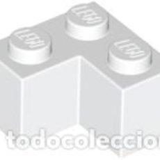 Juegos construcción - Lego: LEGO 2357 LADRILLO BLANCO 2 X 2 ESQUINA CJN3. Lote 214178680
