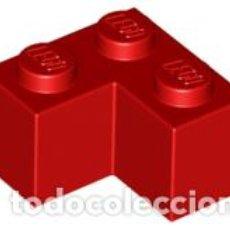 Juegos construcción - Lego: LEGO 2357 LADRILLO ROJO 2 X 2 ESQUINA CJN3. Lote 214178697