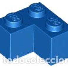 Juegos construcción - Lego: LEGO 2357 LADRILLO AZUL 2 X 2 ESQUINA CJN3. Lote 214178717