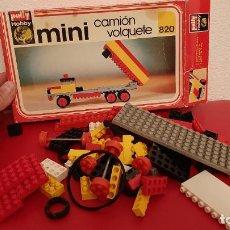 Juegos construcción - Lego: LOTE POLLY HOBBY MINI CAMION VOLQUETE REF 820 CAMION JUEGO CONSTRUCCION PIEZAS AÑOS70. Lote 214747470
