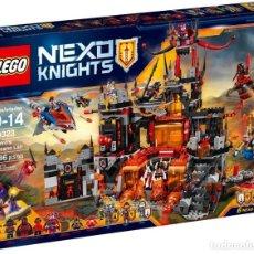 Juegos construcción - Lego: LEGO NEXO KNIGHTS: GUARIDA VOLCÁNICA DE JESTRO - LEGO SET 70323 - NEXO KNIGHTS. Lote 140874730