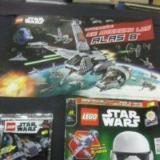 Juegos construcción - Lego: LEGO STAR WARS Nº 50. AGOSTO 2019. LEGO STAR WARS B-WING. 2 MEGA POSTERS STAR WARS. Lote 216604252