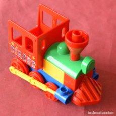 Juegos construcción - Lego: LOCOMOTORA - CIRCUS - TREN DEL CIRCO LEGO DUPLO. Lote 217481370