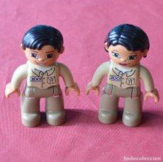 Juegos construcción - Lego: ZOO - 2 FIGURAS - LEGO DUPLO. Lote 217699367