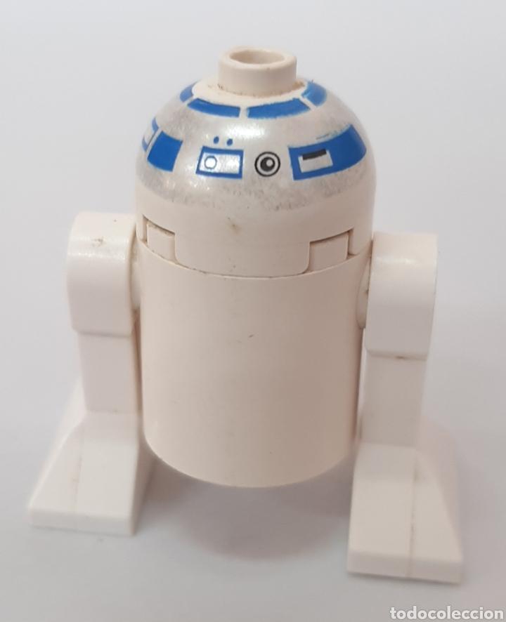 Juegos construcción - Lego: R2d2 cabeza blanca Star Wars figura Lego - Foto 2 - 218094383