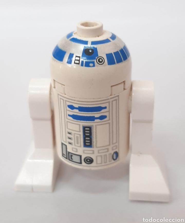 R2D2 CABEZA BLANCA STAR WARS FIGURA LEGO (Juguetes - Construcción - Lego)
