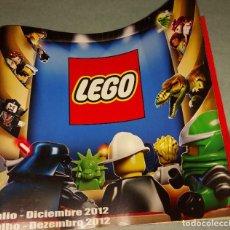 Juegos construcción - Lego: LEGO - CATALOGO JUGUETES - AÑO 2012. Lote 218284907