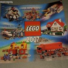 Juegos construcción - Lego: LEGO- CATALOGO DE JUGUETES 2007. Lote 218285096