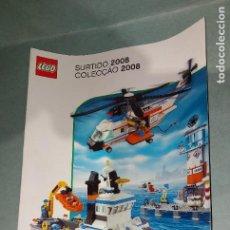 Juegos construcción - Lego: LEGO - CATALOGO JUGUETES - AÑO 2008. Lote 218285241