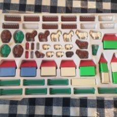 Juegos construcción - Lego: LOTE DE PIEZAS SIMILARES A LEGO. Lote 218300836