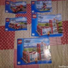 Juegos construcción - Lego: 5 CATÁLOGOS DE LEGO. Lote 218648668